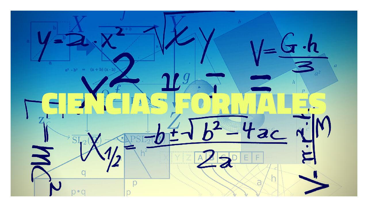 ciencias formales